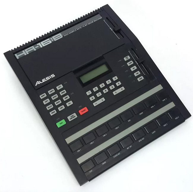 alesis hr 16 the great forgotten drum machine of the reverb news. Black Bedroom Furniture Sets. Home Design Ideas