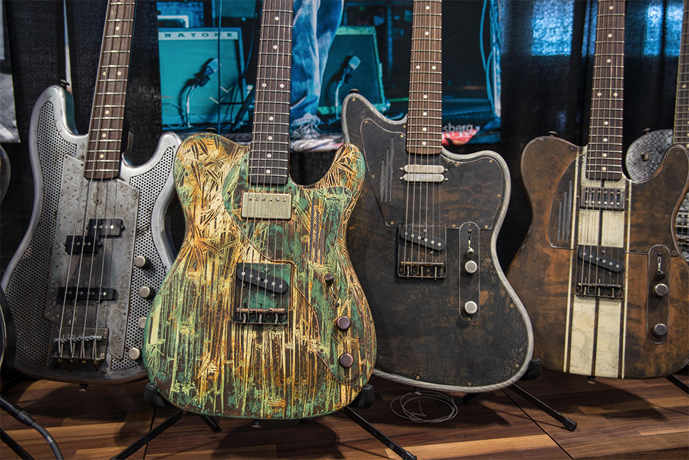 The Coolest Boutique Guitars at Summer NAMM 2017 | Reverb News