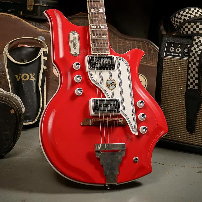 1962-64 National Glenwood 95 Map Guitar