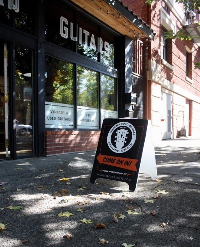 thunder road guitars opens second location in portland reverb news. Black Bedroom Furniture Sets. Home Design Ideas