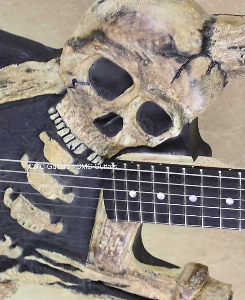 The most clearly haunted guitars on reverb right now