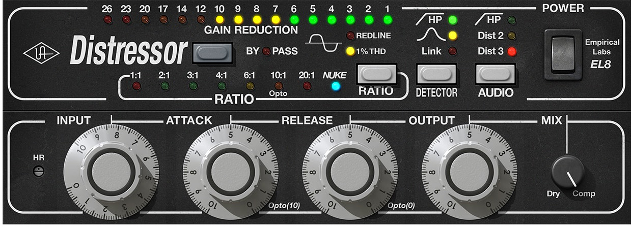 The Empirical Labs Distressor and Its Emulations: Hear