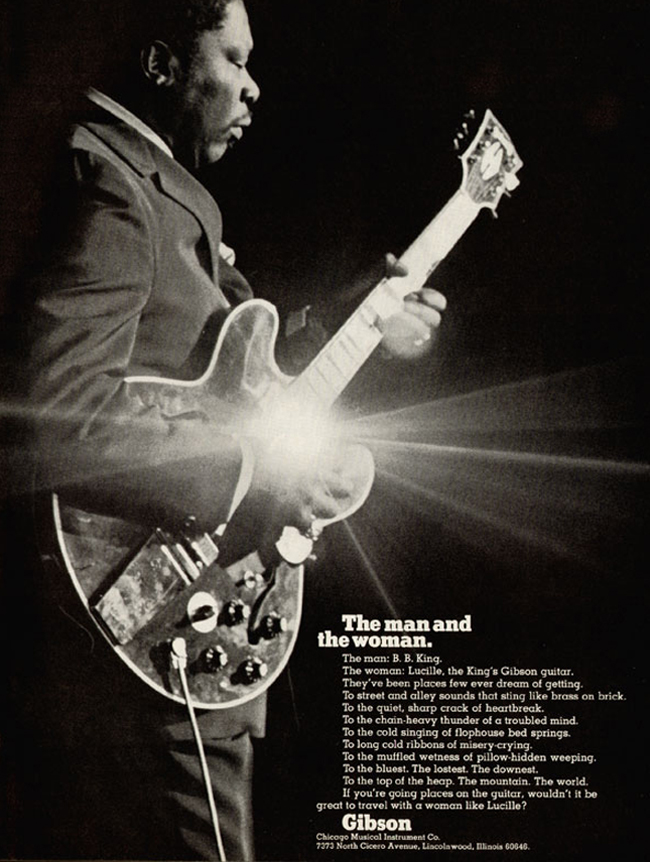 B B  King's Many Lucilles: A Guide to the Blues'   Reverb News
