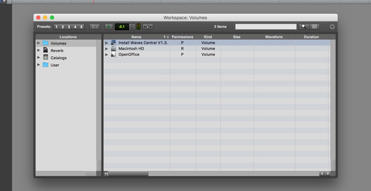 waves preferences pro tools
