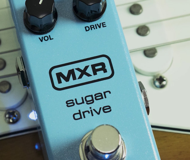 MXR Releases The Sugar Drive Its Take On A 90s Classic
