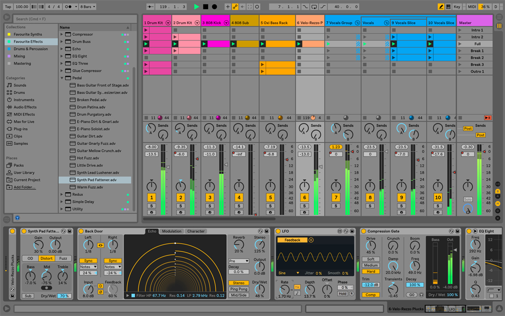 3 Powerful Mixing Tools Found in the New Ableton Live 10