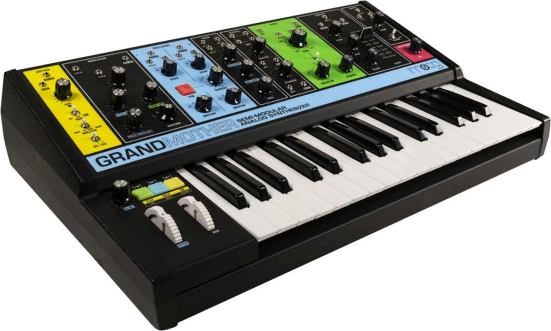 New Moog Synth, the Grandmother, Leaks Ahead of Moogfest