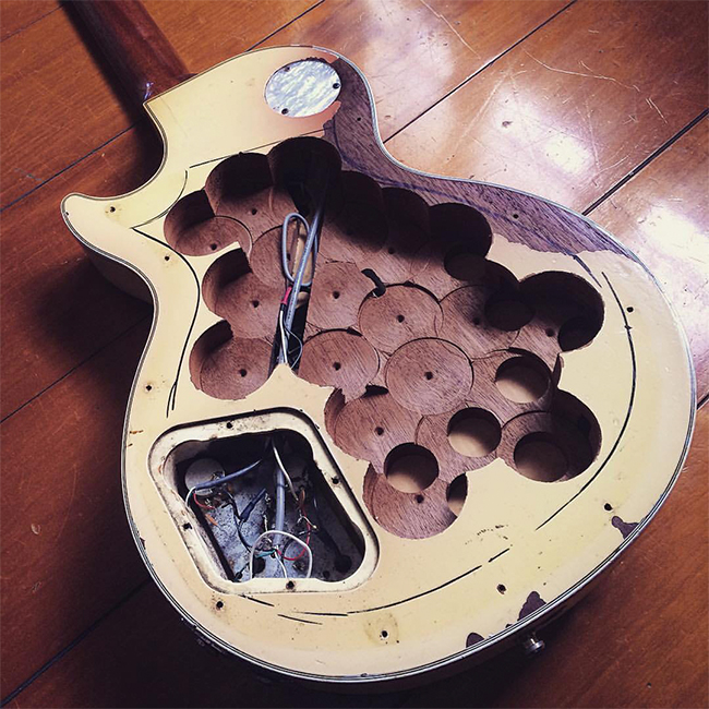 Maimed Les Pauls And Endless Pickup Swaps The Guitars Reverb News