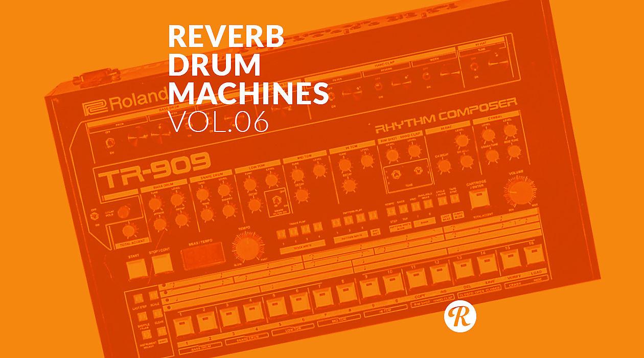Modded Roland TR-909 Rhythm Composer Sample Pack     Reverb News
