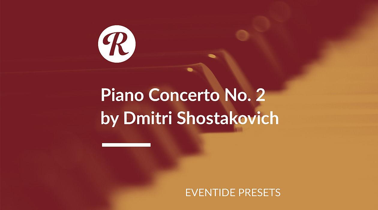"Recreating Dmitri Shostakovich's ""Piano Concerto No  2"