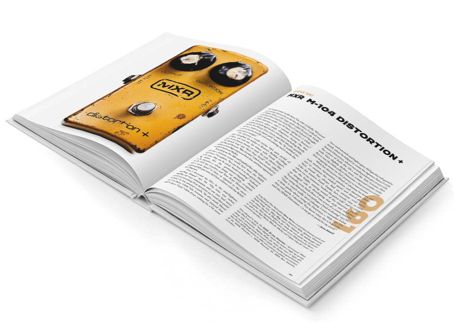 Steve Vai's MXR M104 Distortion+