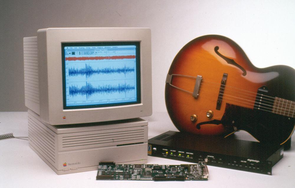 A 1991 Pro Tools and Mac II rig