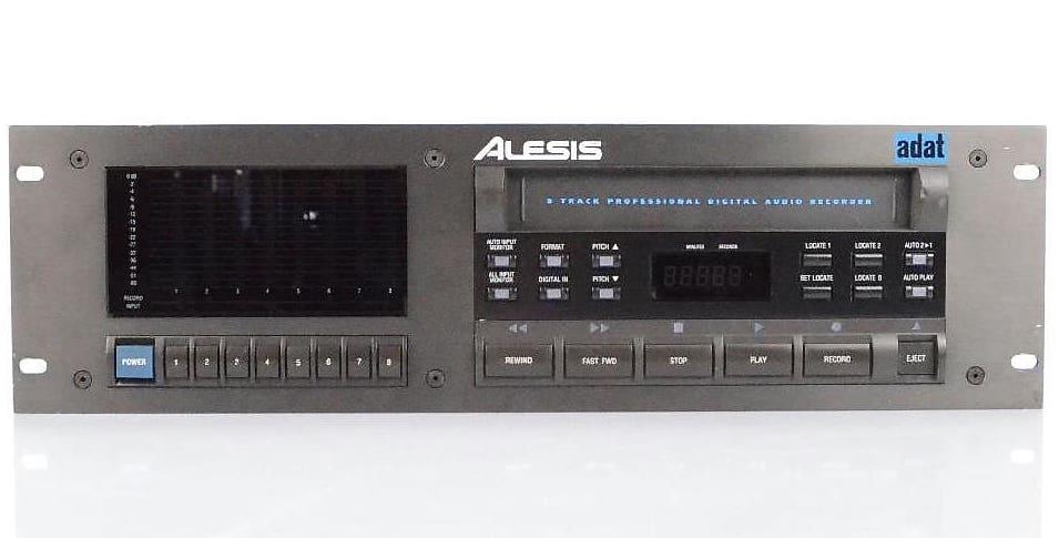 An Alesis ADAT recorder