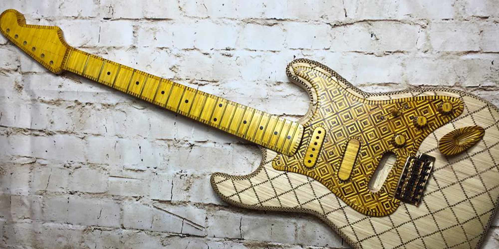 Pictures of Matchstick Strat: UK Builder Dean Fraser\'s | Reverb News