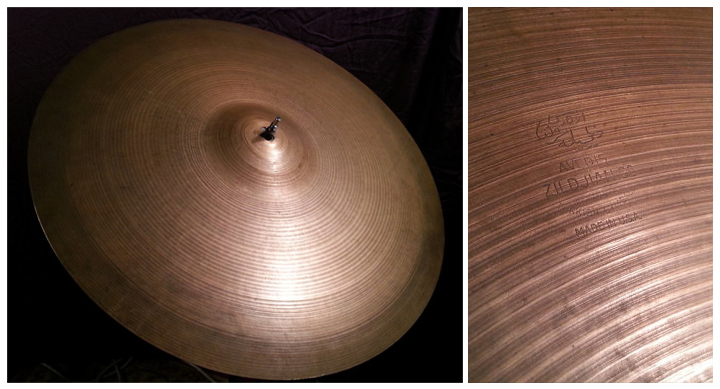 zildjian cymbal dating